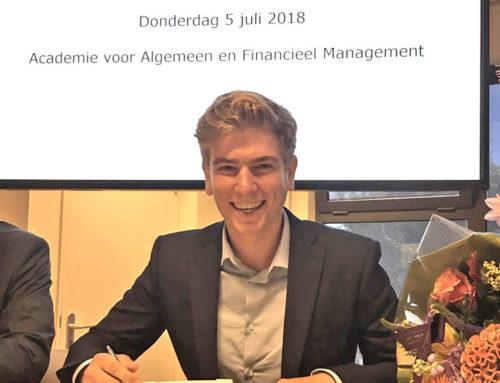 Nieuwe medewerker Robbert Seghers