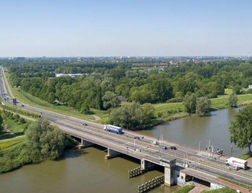 Wantij brug N3 afgesloten tot 03-04-2020