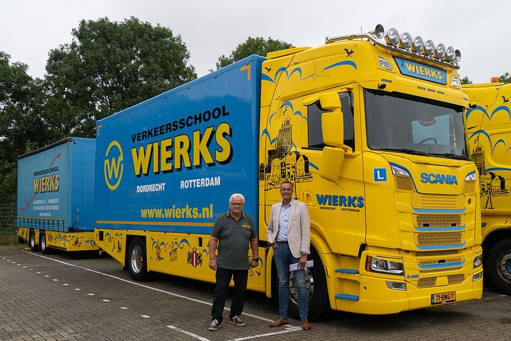 Frans van Lonkhuizen en Lex Wierks